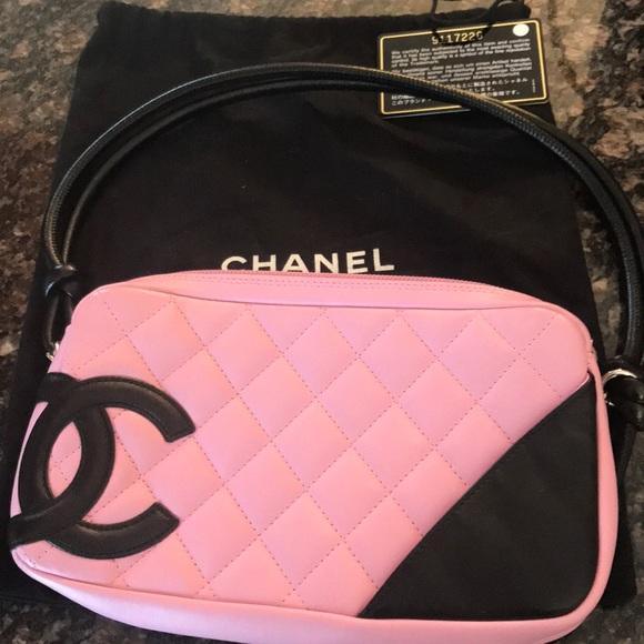 a0db6bc89f125f CHANEL Handbags - Chanel cambon handbag like new with auth card!